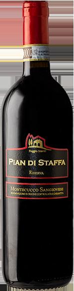 PIAN DI STAFFA Riserva • Montecucco Sangiovese DOCG-Poggio Stenti