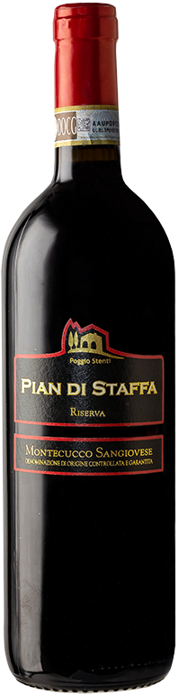 PIAN DI STAFFA Riserva- Montecucco Sangiovese DOCG-Poggio Stenti