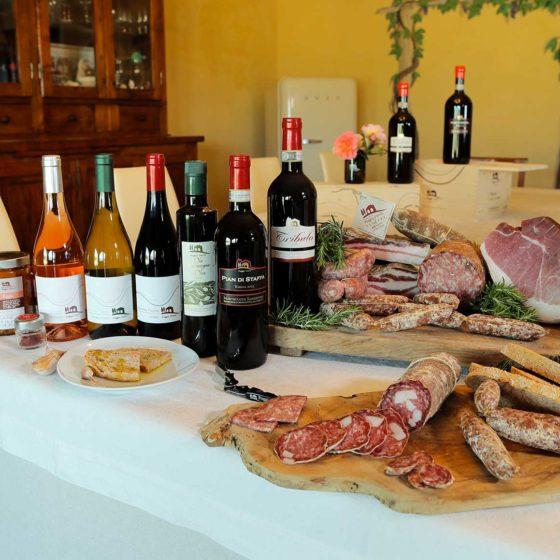 Degustazioni Azienda Agricola Poggio Stenti