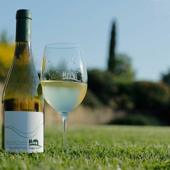 Vino Maremma Toscana Bianco DOC Poggio Stenti